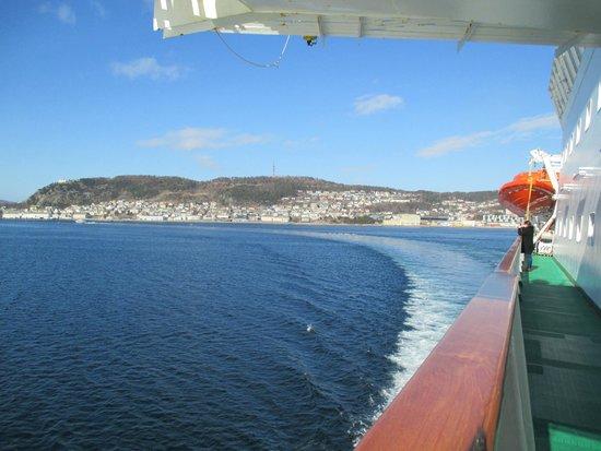 Hurtigrutens Hus: beau soleil
