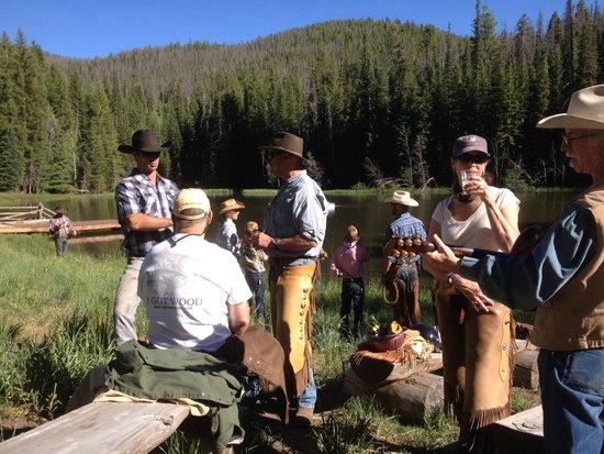 Black Mountain Ranch : Jakes Lake Dinner