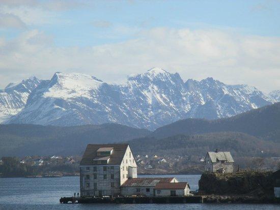 Hurtigrutens Hus: Magnifiques paysages