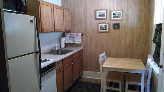 Trails End Cabins & Motel : Cabin 6 Kitchen