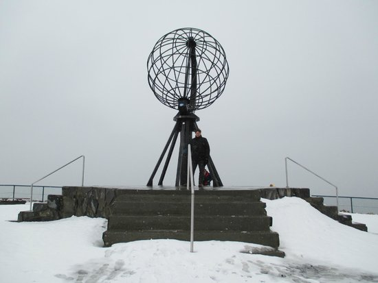 Hurtigrutens Hus: cap Nord