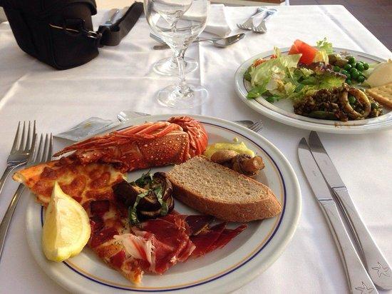 IBEROSTAR Albufera Playa: lobster