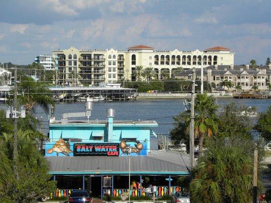 Hilton Clearwater Beach: vista desde el balcon hacia la ciudad