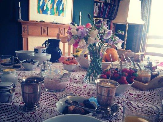 La Roche : Breakfast table