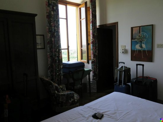 Pensione Bencista: The first night's room.