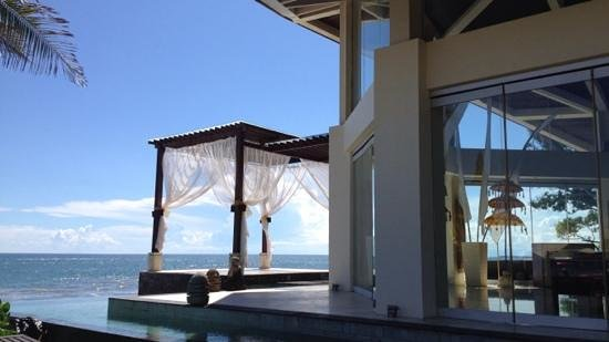 The Seminyak Beach Resort & Spa: Another view of the gorgeous wedding chapel
