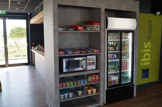 Hotel ibis budget Edinburgh Business Park : snack bar
