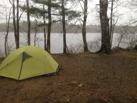 Duck Puddle Campground: Rainy, but still fun!