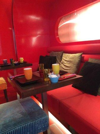 Five Hôtel : Love capsule petit déjeuner