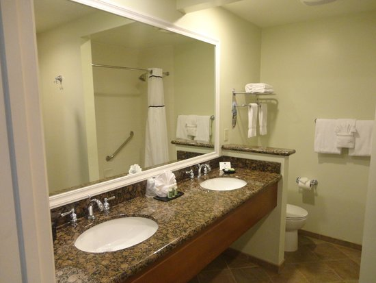 Shore Cliff Hotel: Badezimmer