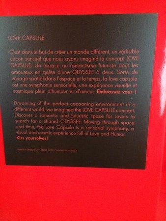 Five Hôtel : Love capsule