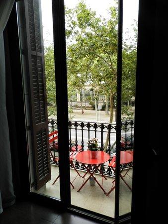 chic&basic Born Hotel: Balcony