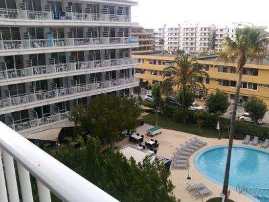 Hotel JS Sol de Alcudia: Vom Hotelzimmer