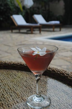 Casa Lucia Boutique Hotel & Yoga Retreat: One of our Refreshing Cocktails