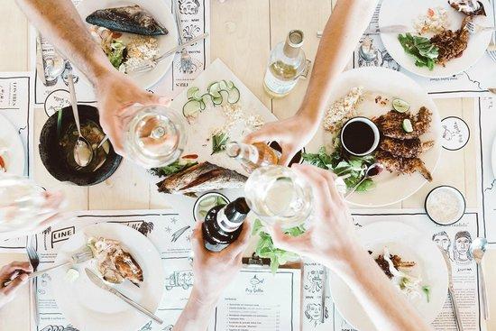 Hotel Suites Villasol: Buena comida y buenos amigos