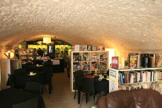 Bookstop cafe : cafe interior