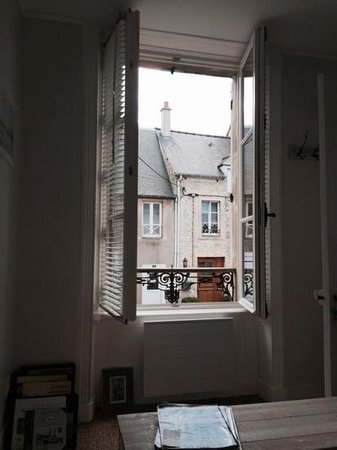 La Maison Matelot : view from our bedroom
