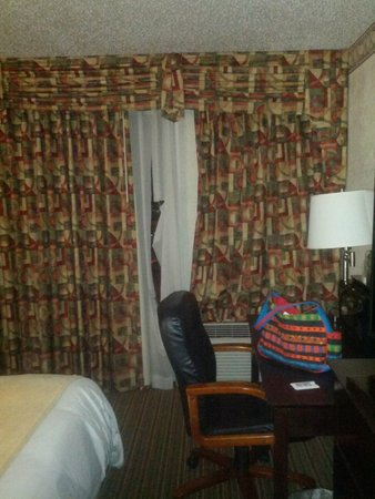 The Regency Hotel : time for new window coverings