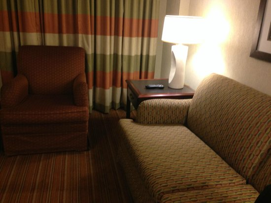 Embassy Suites by Hilton Parsippany: Old gross decor
