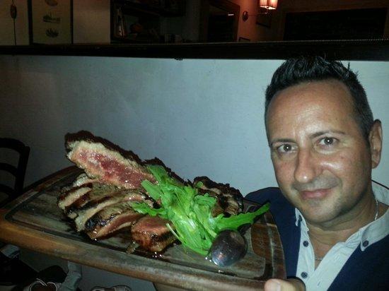 Club Culinario Toscano da Osvaldo : Tagliata da 1.3 kg..buonissima