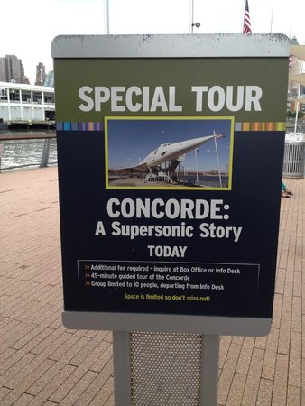 Intrepid Sea, Air & Space Museum : CONCORDE