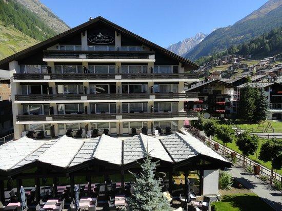 Hotel Mirabeau: le bâtiment principal
