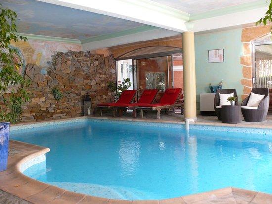 Hostellerie des Criquets : la piscine