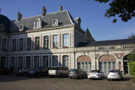 La Chartreuse du Val Saint Esprit: Front of Chateau