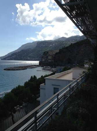 Hotel Panorama: utsikt från baren