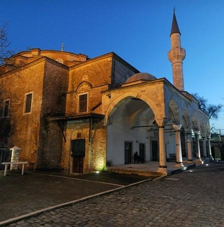 Kucuk Ayasofya Camii (Church of the Saints Sergius and Bacchus): Night time