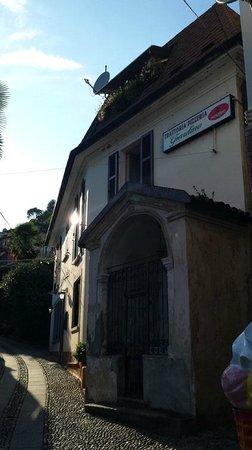 Trattoria Pizzeria Giardino : Aussenansicht 1