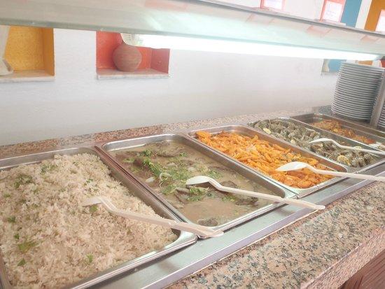 Club Eldorador Salammbo : Buffet