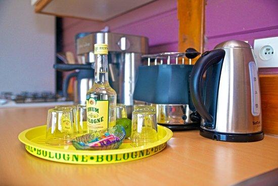 Rochers Caraibes-Eco Village : Punch de bienvenue