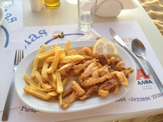 Nikolas Taverna: Calamari!!