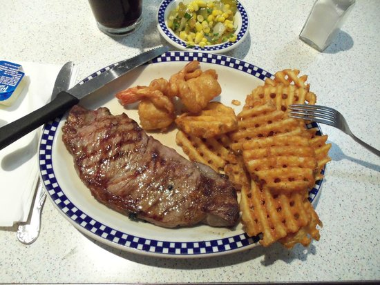 The New Yorker A Wyndham Hotel: The best steak I've ever eaten at the Tick Tock diner
