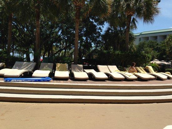 The Westin Hilton Head Island Resort & Spa : Pool Deck
