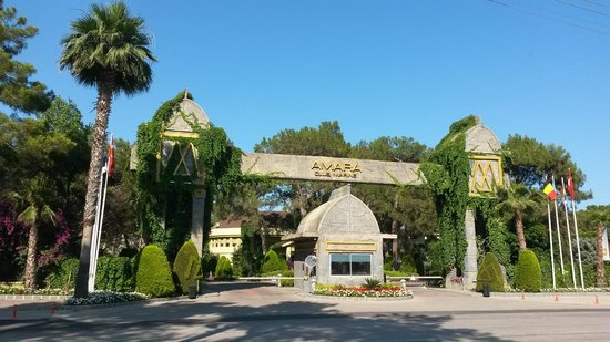 Amara Club Marine : Въезд в отель