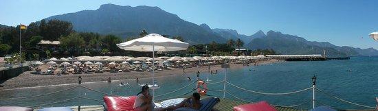 Amara Club Marine : Пляж