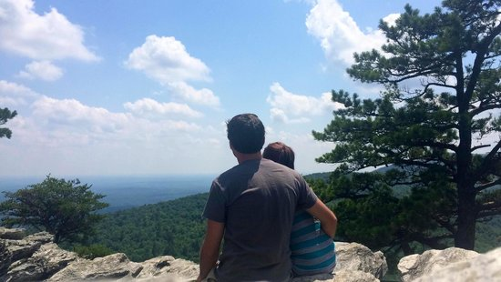 """Hanging Rock State Park: """"Ok, that hike was worth it"""""""
