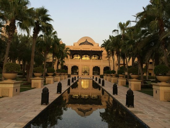 The Palace at One&Only Royal Mirage Dubai: The Palace at sun down...