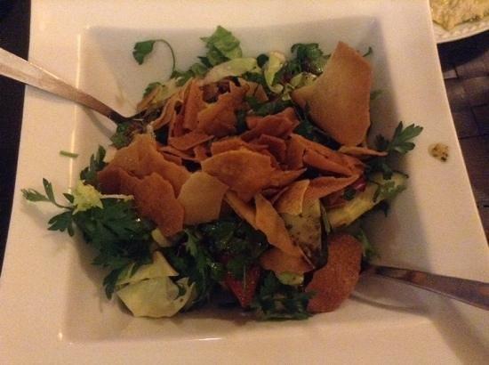 Sham : la salade (sans oignons...)