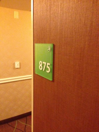 Holiday Inn Secaucus Meadowlands: Our room