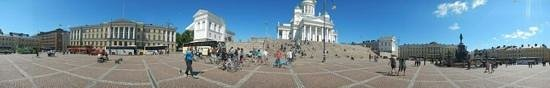 Bicyclean Helsinki: piazza senatori