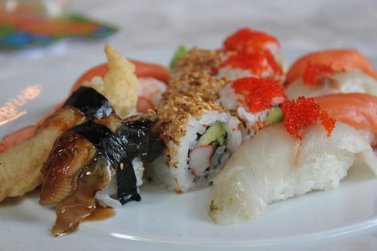 Seasons Restaurant: Heerlijke sushi