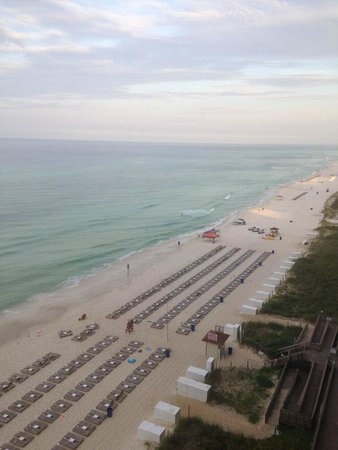 Tidewater Beach Resort: East view from unit 8154