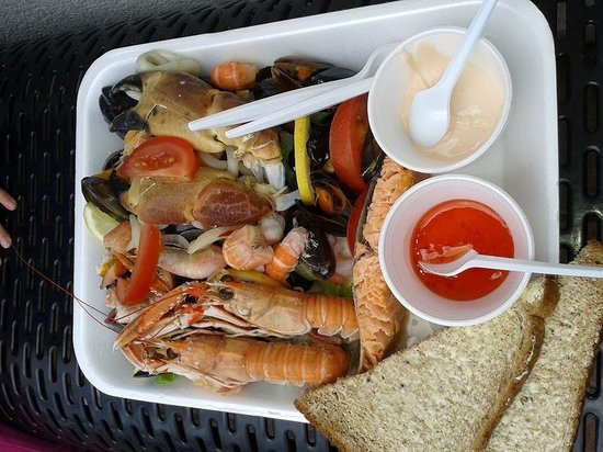 Oban Seafood Hut: Delicious!