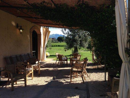 Agriturismo Sambuco: Terrasse