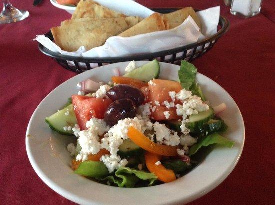 Chef Tommy's : Greek salad