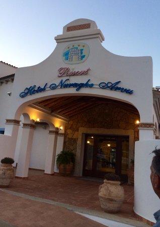 Hotel Nuraghe Arvu : Frontage