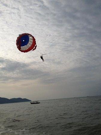 PARKROYAL Penang Resort, Malaysia: the beach of the resort